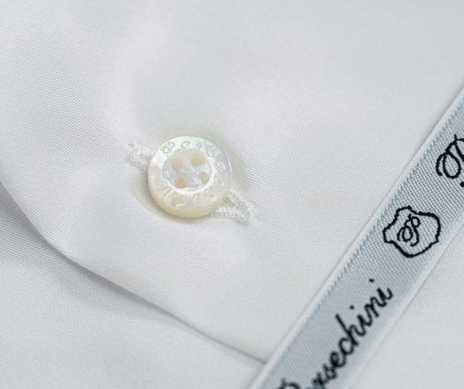 Bottone in Madreperla Camicia di alta qualità